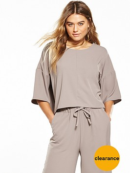 native-youth-sports-luxe-boxy-t-shirt-taupe