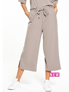 native-youth-sports-luxe-culottes-taupe