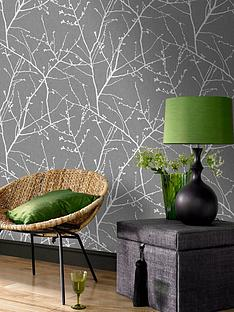 superfresco-easy-innocence-charcoal-and-silver-wallpaper