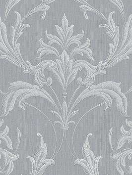 graham-brown-oxford-silver-and-grey-wallpaper