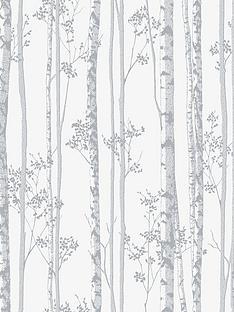 Graham U0026 Brown Linden Wallpaper   Pearl And Grey