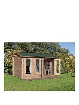 forest-4x3mnbspchiltern-34mmnbsplog-cabinnbspwith-optional-installation
