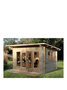 forest-4x3mnbspmelbury-44mm-log-cabinnbspwith-optional-installation
