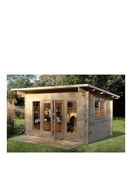 forest-4x3mnbspmelbury-44mm-log-cabinnbspwith-optional-installation