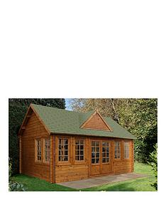 forest-55-x-4mnbspcheviot-44mm-log-cabinnbspwith-optional-installation