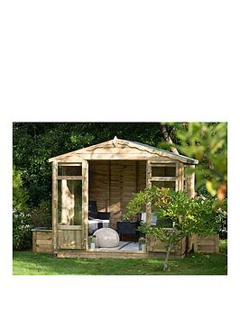 forest-8x6ft-oakley-overlap-pressure-treated-summerhouse