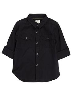 river-island-mini-boys-black-military-oxford-shirt