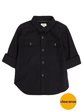river-island-mini-boys-black-military-oxford-shirt