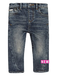 river-island-mini-mini-boys-blue-wash-seam-jeans