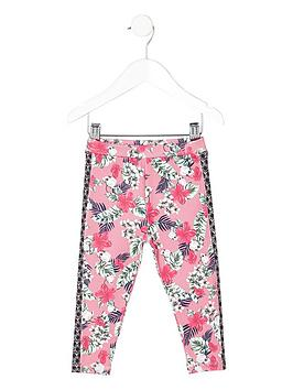 river-island-mini-girls-pink-tropical-print-leggings