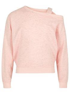 river-island-girls-pink-one-shoulder-strap-sweatshirt