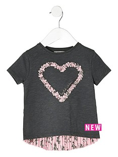 river-island-mini-mini-girls-dark-grey-heart-pleated-t-shirt