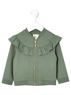 river-island-mini-mini-girls-khaki-ruffle-jack