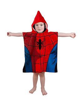 spiderman-ulitmate-spiderman-poncho-towel