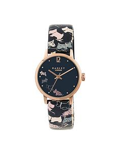 radley-radley-doodle-dog-watch-gold-plated-case-midnight-genuine-leather-strap