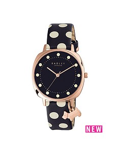 radley-radley-blue-dial-dog-charm-polka-dot-leather-strap-ladies-watch