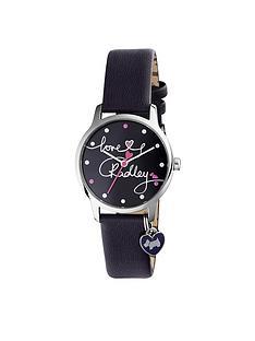 radley-radley-love-printed-dial-heart-charm-navy-ladies-watch