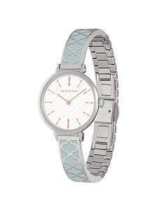 halcyon-days-agama-white-dial-grey-ceramic-bracelet-ladies-watch