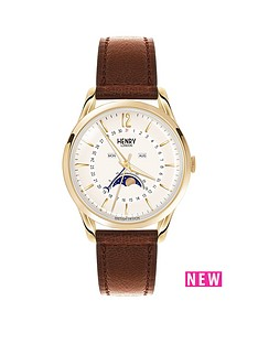 henry-london-henry-london-westminster-pale-champagne-dial-brown-leather-strap-ladies-watch