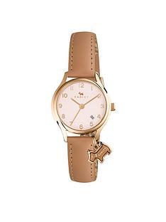 radley-radley-white-dial-dog-charm-biege-strap-ladies-watch