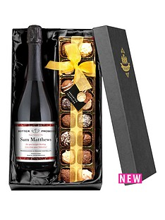 personalised-valentines-day-prosecco-with-chocolates
