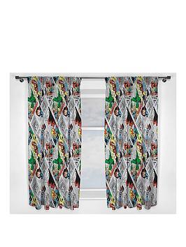 marvel-retro-comic-curtains