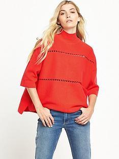 french-connection-milano-mozart-jumper-coral