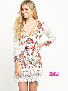 french-connection-legere-lace-dress