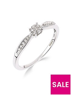 love-diamond-9ct-white-gold-10-point-diamond-cluster-ring