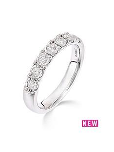 9ct-white-gold-28-point-diamond-illusion-setting-eternity-ring