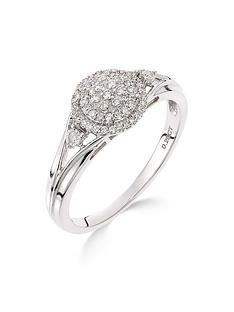 love-diamond-9ct-white-gold-18-point-diamond-cluster-ring
