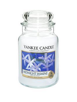 Yankee Candle Midnight Jasmine Large Jar Candle thumbnail