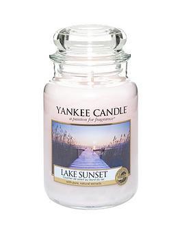 Yankee Candle Large Classic Jar Candle &Ndash; Lake Sunset thumbnail