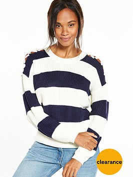 v-by-very-tie-shoulder-stripe-jumper-stripe