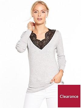 v-by-very-lace-v-neck-jumper