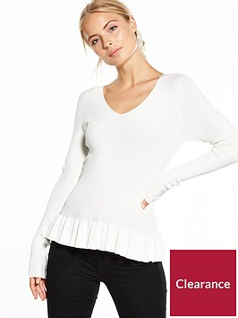 v-by-very-v-neck-ribbed-ballerina-hem-jumper