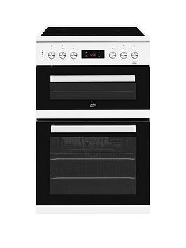 Beko Kdc653W 60Cm Electric Cooker With Ceramic Hob - White