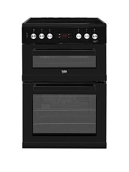 Beko Kdc653K 60Cm Electric Cooker With Ceramic Hob - Black Best Price, Cheapest Prices