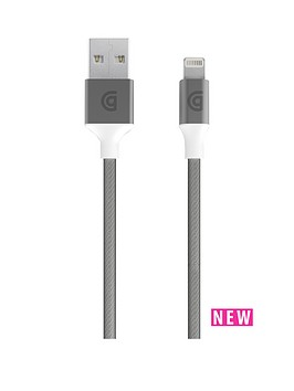 griffin-usb-to-lightning-cable-premium-10ft-silver