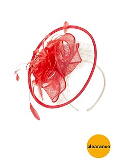 v-by-very-disc-contrast-fascinator-creampinknbsp