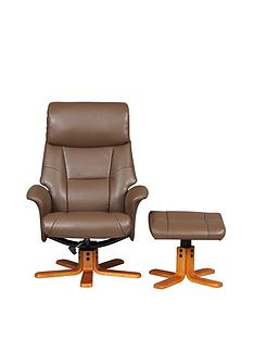 flint-faux-leather-recliner-amp-footstool