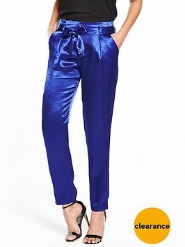 v-by-very-satin-tie-waist-trouser-blue