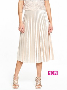 v-by-very-velvet-pleat-skirt