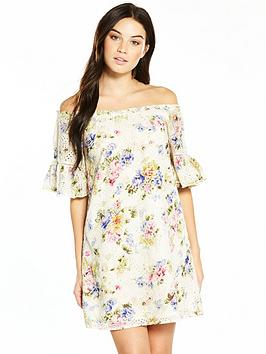 v-by-very-cut-work-cold-shoulder-frill-dress