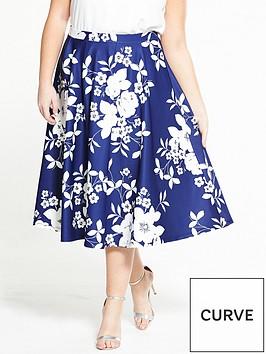 v-by-very-curve-scuba-prom-skirt-blue