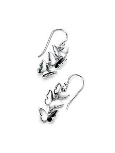 love-silver-sterling-silver-triple-butterfly-drop-earring