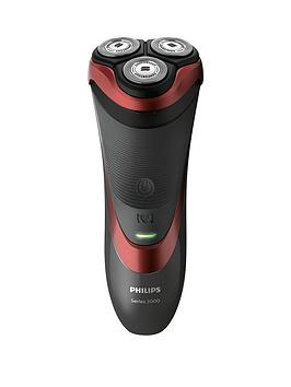 Philips Series 3000 Wet &Amp; Dry Men&Rsquo;S Electric Shaver With Pop-Up Trimmer - S3580/06