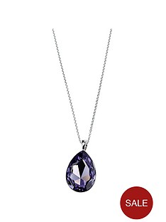 elements-silver-elements-sterling-silver-tanzanite-swarovski-crystal-teardrop-pendant