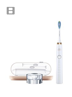 Philips Sonicare DiamondClean Deep Clean Electric Toothbrush HX9391/92 - Rose Gold Edition