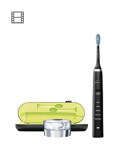 Philips Sonicare DiamondClean Deep Clean Electric Toothbrush HX9351/52 - Black Edition